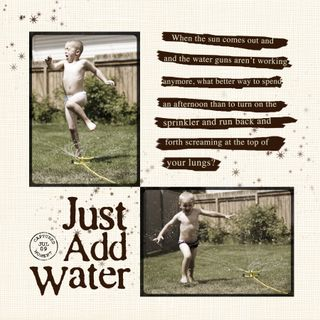 Just AddWater