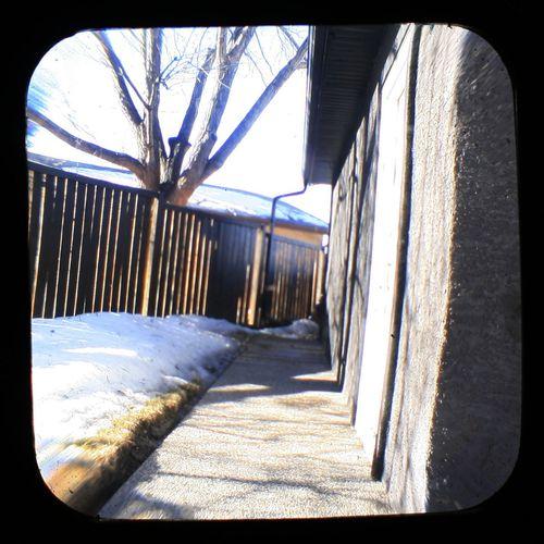 GarageSidewalk