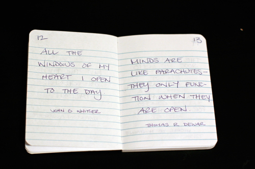 Quotes Journal Prepossessing Art Journal Quotes Week 2  Serious Play