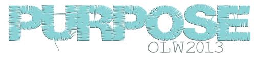 Purpose-OLW2013