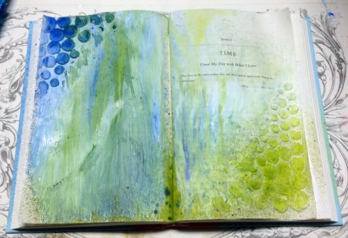 Art-Journal-gesso-mouldingpaste-ink