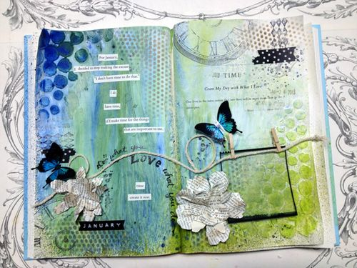 Art-Journal-completed-page