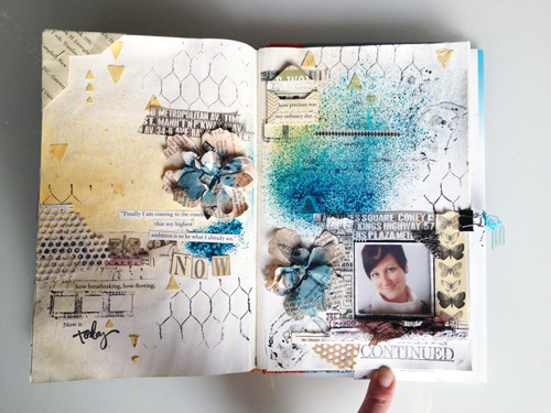 Art-journal-page