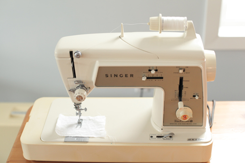 Vintage-sewing-machine-top