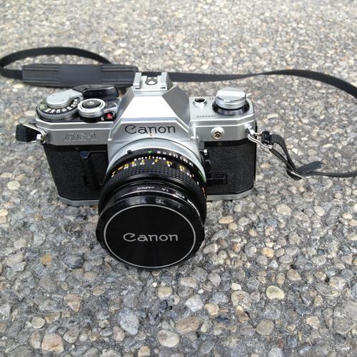 Vintage-Canon-AE1-camera