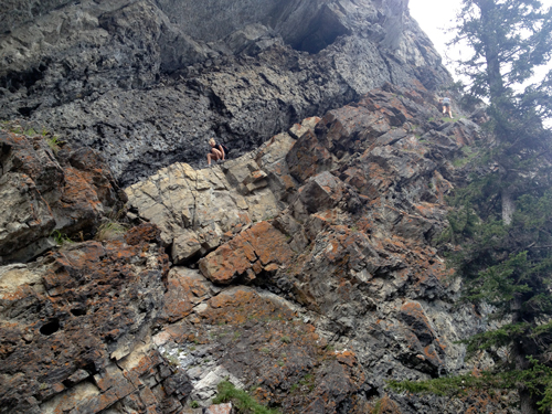 Girls-climbing