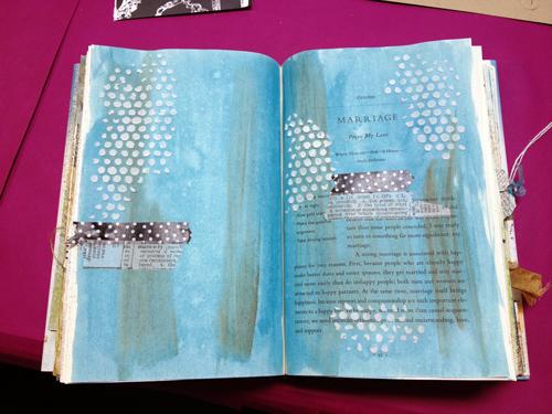 Washi-tape-in-art-journal
