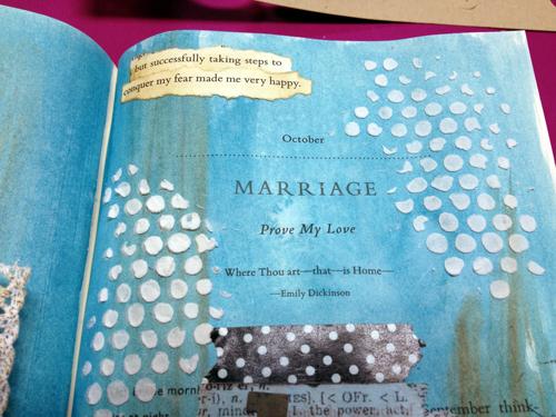 Word-strips-in-art-journal