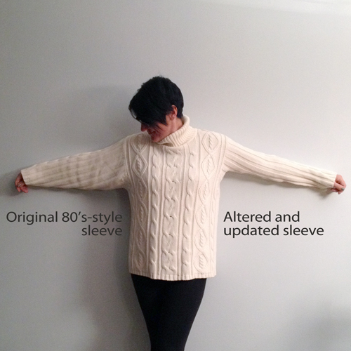 Altering-an-80s-sweater