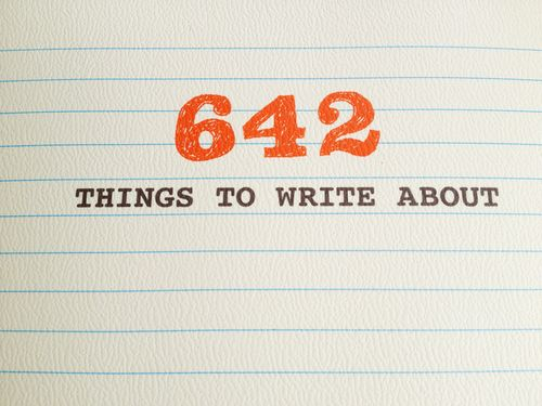 642-Things-to-Write-About