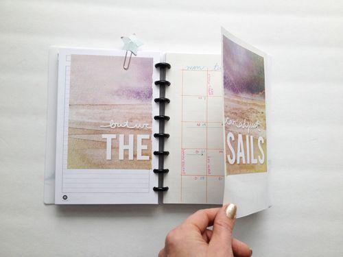 Fold-out-calendar